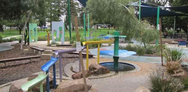 Mueller Park Playspace at Kitchener Park, Subiaco